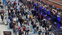 Kurban Bayramı öncesi Sabiha Gökçen Havalimanı doldu taştı