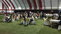 Giresun'da dere taştı düğündeki 200 kişi mahsur kaldı