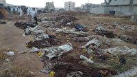Afrin'de PKK vahşeti: Onlarca sivilin cansız bedeni toplu mezardan çıktı!