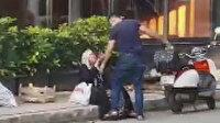 Sokak ortasında evlat dehşeti: 10 bin TL'lik telefon almayan annesini silah çekip darp etti