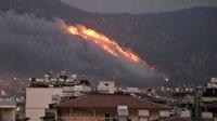 Hatay'da iki ilçede korkutan orman yangını