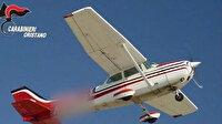 İtalya'da uçaktan atılan 9 milyon euro'luk kokain yanlış evin çatısına düştü