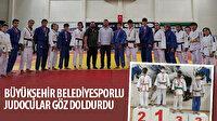 Büyükşehir Belediyesporlu Judocular göz doldurdu
