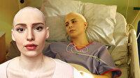 Naz Çağla Irmak 'Demir Kadın Neslican' filmi için saçlarını kazıttı