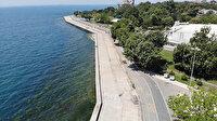 İstanbullular tatile gitti Caddebostan sahili boş kaldı