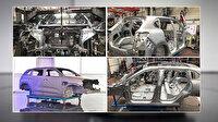 Yerli otomobil TOGG'un ilk gövde montajı tamam: Parçaların tamamı Türkiye'de üretildi