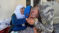 İdlib'teki alçak saldırı sonrası hafızalara kazınmıştı: Mehmetçik Meryem nineyi unutmadı
