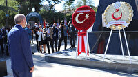 Cumhurbaşkanı Erdoğan Lefkoşa'da: Düzenlenen törene katıldı