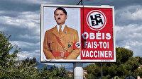 Fransa Cumhurbaşkanı Macron'u Hitler'e benzeten afişlere soruşturma
