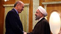 Cumhurbaşkanı Erdoğan İranlı mevkidaşı Ruhani ile görüştü