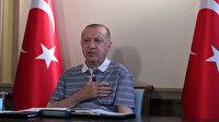 Cumhurbaşkanı Erdoğan'dan aşı mesajı: Yeni varyantın pençesine düşmedik