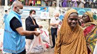 Türkiye Diyanet Vakfı Kamerun'da binlerce ailenin yüzünü güldürdü