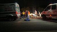 Afyonkarahisar'da zincirleme kaza: İkisi çocuk dört kişi hayatını kaybetti