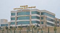Kırşehir Ahi Evran Üniversitesi öğretim üyesi alıyor