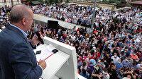Cumhurbaşkanı Erdoğan'dan Rize'de selden etkilenen vatandaşlara çağrı: Ne olur yamaçlara 5-10 katlı binalar yapmayın
