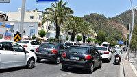 Tatilcilerin dönüş yolculuğu başladı: Marmaris'ten 14 saatte 65 bin araç çıkış yaptı