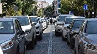 43 ilin geçiş noktasında trafik kilit: Kuyruğun sonu gözükmüyor