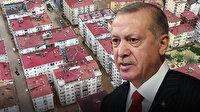Cumhurbaşkanı Erdoğan sel felaketinin yaşandığı Rize'de