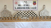 İçişleri Bakanı Soylu Hakkari'de 449 kilo eroin ele geçiren güvenlik güçlerini tebrik etti