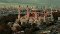 Cumhurbaşkanı Erdoğan'dan Ayasofya paylaşımı: Ezanlar kıyamete kadar eksik olmayacak