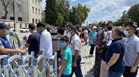 İbadete açılmasının yıl dönümünde Ayasofya-i Kebir Camisi'ne ziyaretçi akını