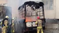 İstanbul'da kundakçı dehşeti: Evsizlerin kaldığı aracı ateşe verdi