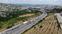 Bayram tatilinin son gününde Kocaeli'de trafik yoğun ve akıcı