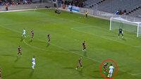 Cengiz Ünder Marsilya'daki ilk maçında spikeri bile etkiledi