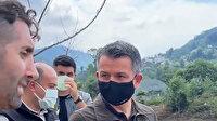 Bakan Pakdemirli Artvin'deki sel sularını tahliye eden DSİ operatörünü tebrik etti