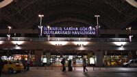 Sabiha Gökçen Havalimanında 'tatil dönüşü' rekoru