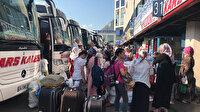 Bayram tatili dönüşü 15 Temmuz Demokrasi Otogarı doldu taştı