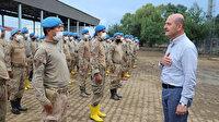 Bakan Soylu'dan Arhavi'deki çalışmalara katılan jandarma personeline teşekkür