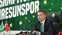 """GZT Giresunspor Başkanı Hakan Karaahmet taraftara güveniyor: """"Bu takım milyonların takımıdır"""""""