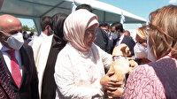 Emine Erdoğan ses telleri kesilen köpeği Yonca Evcimik'e emanet etti