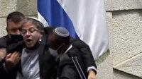 Filistinli milletvekili aşırı sağcı milletvekili Ben-Gvir'i yaka paça kovdurdu