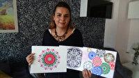 Boyamayla başladı Mandala sanatçısı oldu: Hevesliler için eğitim vermeye hazırlanıyor