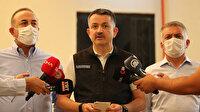 Bakan Bekir Pakdemirli: Manavgat Devlet Hastanesi hizmet vermeye devam ediyor