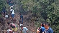 Herkes birlik oldu: Marmaris'te vatandaşlar yangın söndürme çalışmalarına destek veriyor