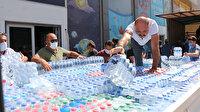 Antalyalılar Manavgat için seferber oldu: Yangını söndürmek için çalışan ekiplere yardım