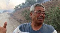 Evi yanan Kozanlı Cumali Amca yürekleri yaktı: Bütün birikimim gitti Allah'tan geldi yapacak bir şey yok