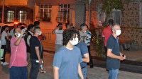 İstanbul Sultangazi'de vatandaşı sokağa döken ses: İki bina boşaltıldı