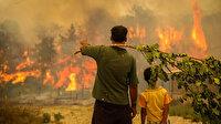 Cumhurbaşkanı Erdoğan'dan orman yangınlarıyla ilgili açıklama: Devlet vatandaşı için tüm imkanlarıyla seferber halde