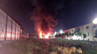 Tekirdağ'da korkutan yangın: İki ayrı fabrikada yangın çıktı