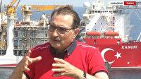 Enerji ve Tabii Kaynaklar Bakanı Dönmez Fatih gemisinde: Yurt dışında çalışan Türk mühendisler ekibe dahil oldu