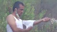 Kendi yarasını tedavi eden orman işçisi yeniden alevlerin arasına koştu