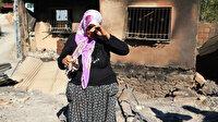 10 yıl önce de aynı şeyi yaşayan Fatma teyzenin yangınla imtihanı: Süt sağacak çanağım bile kalmadı
