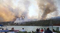 Milas, Bodrum ve Yahyalı'daki orman yangınları kontrol altına alındı