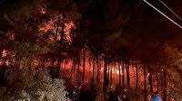Fethiye'de orman yangını: Sabotaj ihtimali üzerinde duruyoruz