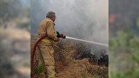 Orman yangını şehidi Yaşar Cinbaş'ın son görüntüleri
