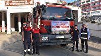 Manavgat'a itfaiye desteği için yola çıktılar